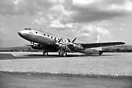 Prototype Avro Tudor 2 G-AGSU first flew on 10th March 1946 from Woodf...