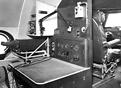 View of the navigators station. This aircraft an upgrad of the first p...