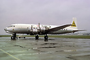 ex-Pan Am passenger DC-6B converted to a freighter with a forward frei...