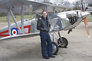 Pilot Simon Johnson seen here at RAF Leeming 25 squadron day disbandme...