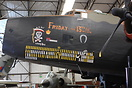 seen here in Elvingtons main Hangar, displaying some history on its no...