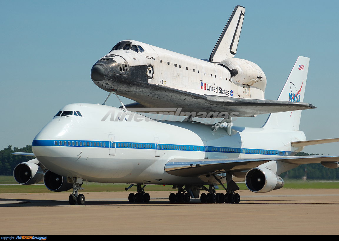 747 space shuttle papercraft - photo #2