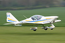 Seen here Landing at Breightons Spring Fly in 2008