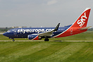 The latest 737 for SkyEurope