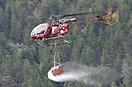 Operated by Air Zermatt on fire fighting tasks.