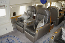 Main cabin seating.