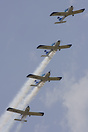 'Wefly' display team.... 4 wheelchair bound pilots fly in formation, a...