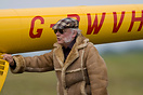 "Sir David Jason trying to make out he is helping pushing his yellow ""T..."