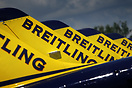 The 2008 Breitling Jet Team livery implies golden tail fins.