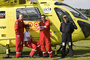 Yorkshire Air Ambulance Crew members take a bow at Breightons at home ...
