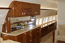 Boeing BBJ1 drinks unit in mid cabin