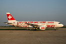 A320 painted in special scheme for the UEFA 2008 in Switzerland and Au...