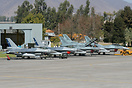 Line-up with F-16AM 726, F-16D Block50+ 859, F-16C Block50+ 855 and F-...