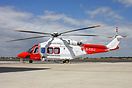 A new type to be seen over the South Coast, as the AW139 takes the rol...