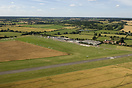 Aerial view of Stapleford Airfield, Essex.