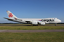 Cargolux latest aircraft with a slightly different livery
