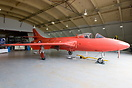 Painted as Hunter prototype WB188 this aircraft is in reality the form...