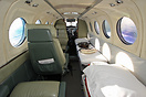 King Air 200 in medevac configuration