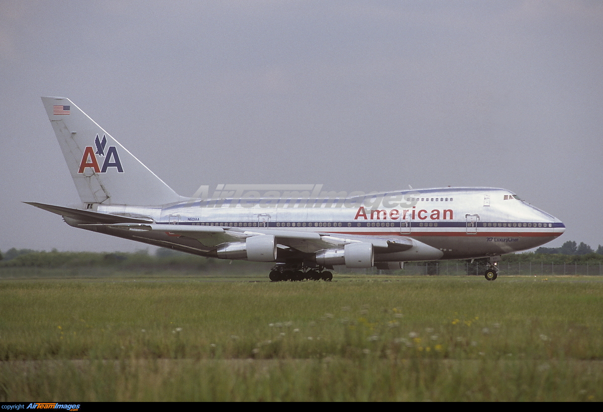 Boeing 747SP-31 - Large Preview - AirTeamImages.com American Airlines