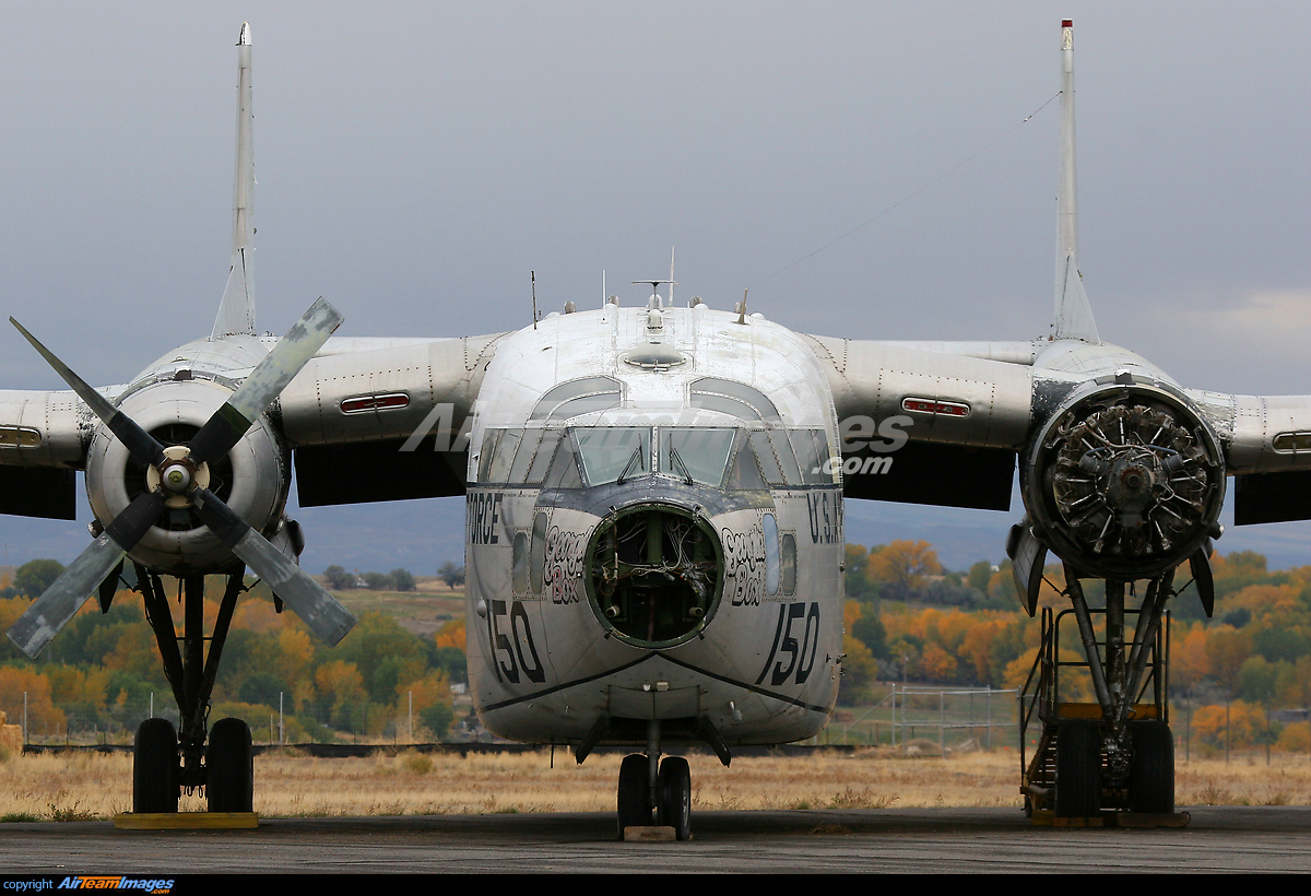 C-119 Flying Boxcar - Large Preview - AirTeamImages.com