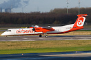 first of ten (plus 10 options) Dash-8-400 for Air Berlin