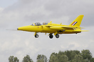 Hawker Siddeley Gnat T1 XR991 pPainted in Yellowjacks colours scheme.