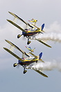 Utterly Butterly Display Duo at the Duxford VEday airshow