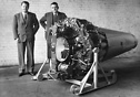The de Havilland Goblin the second British jet engine to fly (original...