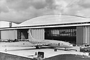 Role out of the Bristol Brabazon prototype aircraft at Filton in Decem...
