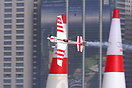 Red Bull Air Race Abu Dhabi 2009 - Paul Bonhommme competing around the...