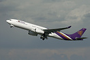 MSN1003, new A330 for Thai departing from Toulouse on its delivery fli...