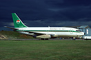 Niger Government Boeing 737 undergoing some routine maintenance at ATC...