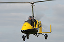Autogyro Europe MT-03 demonstrating at the 2009 Microlight Trade Fair.