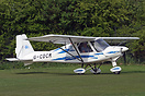 Preparing to depart the 2009 Microlight Trade Fair.