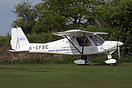 One of many Ikarus C42's that were in attendance at the Microlight Tra...