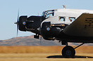 Landing after it's display at the Rand Airport Airshow. This aircraft ...