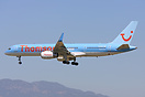 The first Thomson B757 to be fitted with winglets