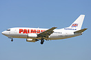 New Boeing 737-500 for Palmair leased from Astraeus