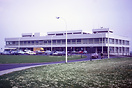 View of the Newcastle Airport terminal building in 1971