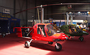 The very impressive Gyrocopter from Polish manufacturer 'Celier' seen ...