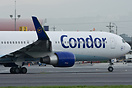 First Condor Boeing 767 fitted with winglets.
