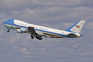 Air Force One departing Paris Orly Airport