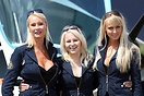 The Czech Aircraft Works (CZAW) promotion girls at AeroExpo