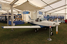View inside the Light Aircraft Association (LAA) marque at AeroExpo