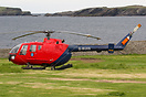 Bond use this Bo105 on contract to the Northern Lighthouse Board to pe...
