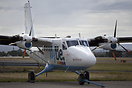 Loganair operate 2 DHC6's in cooperation with Flybe to the Scottish Hi...