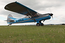 Auster D6 Srs 180 G-ARCS at the 70th Anniversay Fly-in at Middle Wallo...