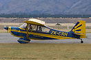 Taxing in after landing at Warbirds over Wanaka 2006.