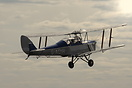 Ken Broomfield in his Thruxton Jackaroo departing Tatenhill Airfield b...