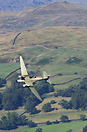 Seen here Low Flying in the Cumbrian Mountains
